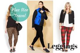 travel clothes images Plus size travel leggings her packing list png