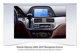 honda odyssey 2005 aux input honda odyssey 2005 2007 navigation interface with built in