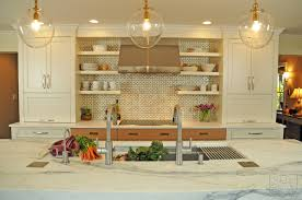 a contemporary kitchen with a mid century vibe the kitchen