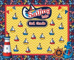 Sailing Into Third Grade