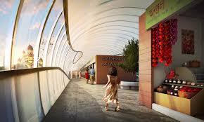 proposed dakshineswar skywalk could greatly improve pedestrian
