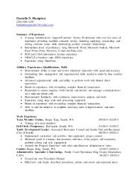 Best Resume Summaries by Astonishing Generic Resume Summary 38 On Best Resume Font With