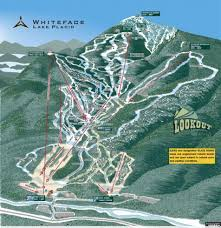 Utah Ski Resort Map by Whiteface Lake Placid Trail Map Liftopia