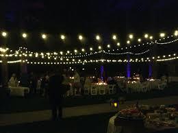 how to string cafe lights italian string lights arrowhead dj events