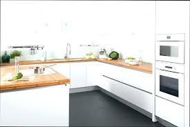 cuisine blanc laqu plan travail bois cuisine blanc laquac et bois cuisine bois blanc cuisine bois et