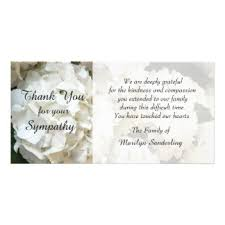 thank you for sympathy card sympathy thank you cards invitations greeting photo cards