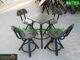 Bn ghế Vintage MV329 bn ghế quán cafe