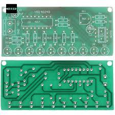 new diy electric unit high quality ne555 cd4017 led light chaser
