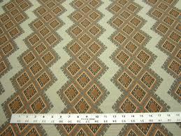 1 2 yards of robert allen crown diamond sunrise upholstery fabric