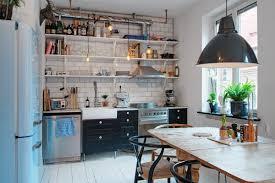 cuisine boheme chic appartement scandinave au caractère bohème