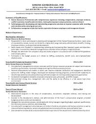 resume sandra scarborough human resources professional ss wiserutips how to set up a resume that gets results