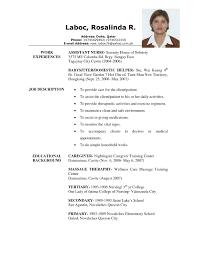 sample resume for elderly caregiver professional resumes example