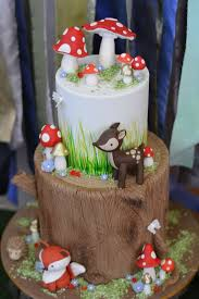 woodland themed baby shower interesting woodland themed baby shower cake 72 about remodel