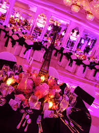 Venues For Sweet 16 Rose Flower Glam Garden Theme Sweet 16 Candelabras Candle Lighting