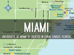 Coral Gables Florida Map by Russell Athletic Bowl By Kaley Malamly