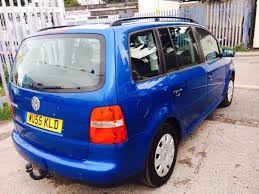 vw touran 1 9 diesel manual 2005 7 seater 6 speed in longsight