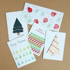 5 simple handmade christmas cards you can make yourself