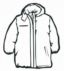 coat winter clothes coloring boys coloring pages girls