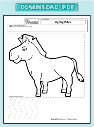 alfa img showing u003e zebra worksheets preschool