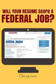 Federal Job Resumes by Federal Government Resume Samples If It Is Your First For Making