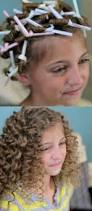 Easy Hairstyle For Wavy Hair by How Cute Use Drinking Straws To Get Super Curly Hair I So Would