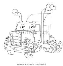 coloring pages horse trailer elegant truck and trailer coloring pages for coloring page of