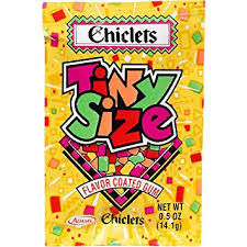 where to buy chiclets gum cadbury chiclets tiny size fruit flavored