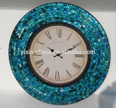 Wall Decor Home Goods European Elegant Mosaic Clock Wall Clock Home Goods Wall Decor