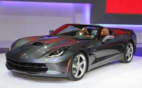 mustang stingray 2014 look 2014 chevrolet corvette stingray convertible