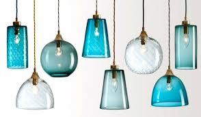 small glass pendant lights aqua glass pendant light gorgeous images about kitchen pendant