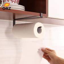 toilet paper shelf orz kitchen paper towel holder brown cabinet under paper tissue