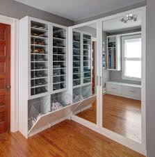 Cool Closet Doors New York Cool Closet Doors Transitional With By Design Metal