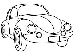 classic vw beetle coloring remember herbie