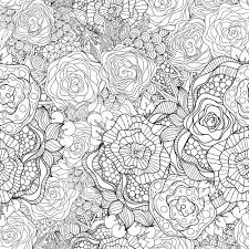 50 free flower coloring pages images mandalas