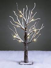twig tree great m downswept snow twig tree with warm white leds