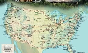 amtrak map usa hacking the amtrak usa rail pass not a pedestrian