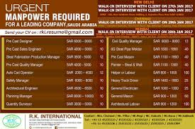 Truck Loader Resume Recruitment From India Manpower Agency In India Overseas