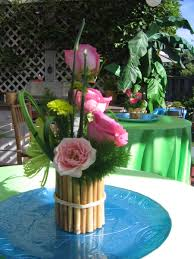 luau table centerpieces hawaiian luau party part 2 centerpieces luau and luau party