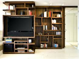 Built In Tv Bookcase Bookcase Tv Unit Bookcase For Home Storages Tv Unit With
