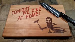 11x14x1 tonight we dine at home cutting board zoom