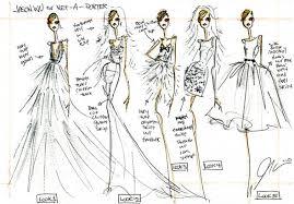 kate middleton wedding dress sketch