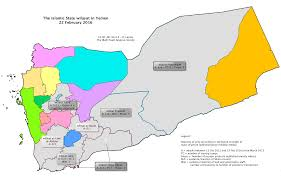 Map Of Yemen Understanding The Islamic State U0027s System Wilayat And Wali In