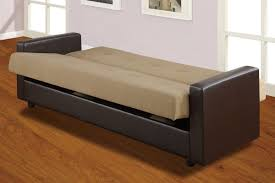 Convertible Sofa Bed With Storage Red Tone Sleeper Couch Combined Queen Wrought Iron Bed Frame As