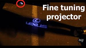 lexus is300 toyota emblem lexus logo door light update youtube