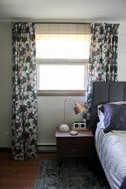 Curtains On The Wall How To Mount A Headboard With Space For Curtains Bright Green Door
