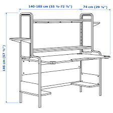 Typical Desk Depth by Jerkersearcher Com Everything Ikea Jerker Including The Bolts