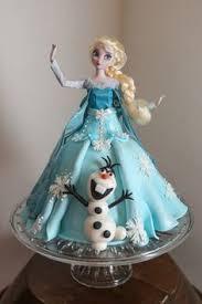 elsa olaf frozen doll cake doll cakes olaf