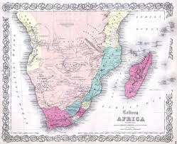 Africa Map Labeled File 1855 Colton Map Of Southern Africa Geographicus