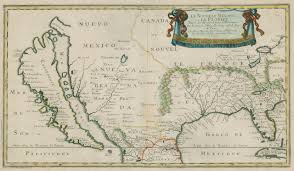 Old Mexico Map by Maps And The Beginnings Of Colonial North America Digital