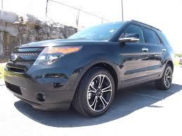 Ford Explorer Black - 2013 ford explorer sport leather moonroof 3rd row tuxedo black at